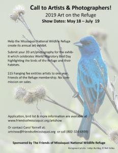 Artists Reception @ Missisquoi National Wildlife Refuge Headquarters | Vermont | United States